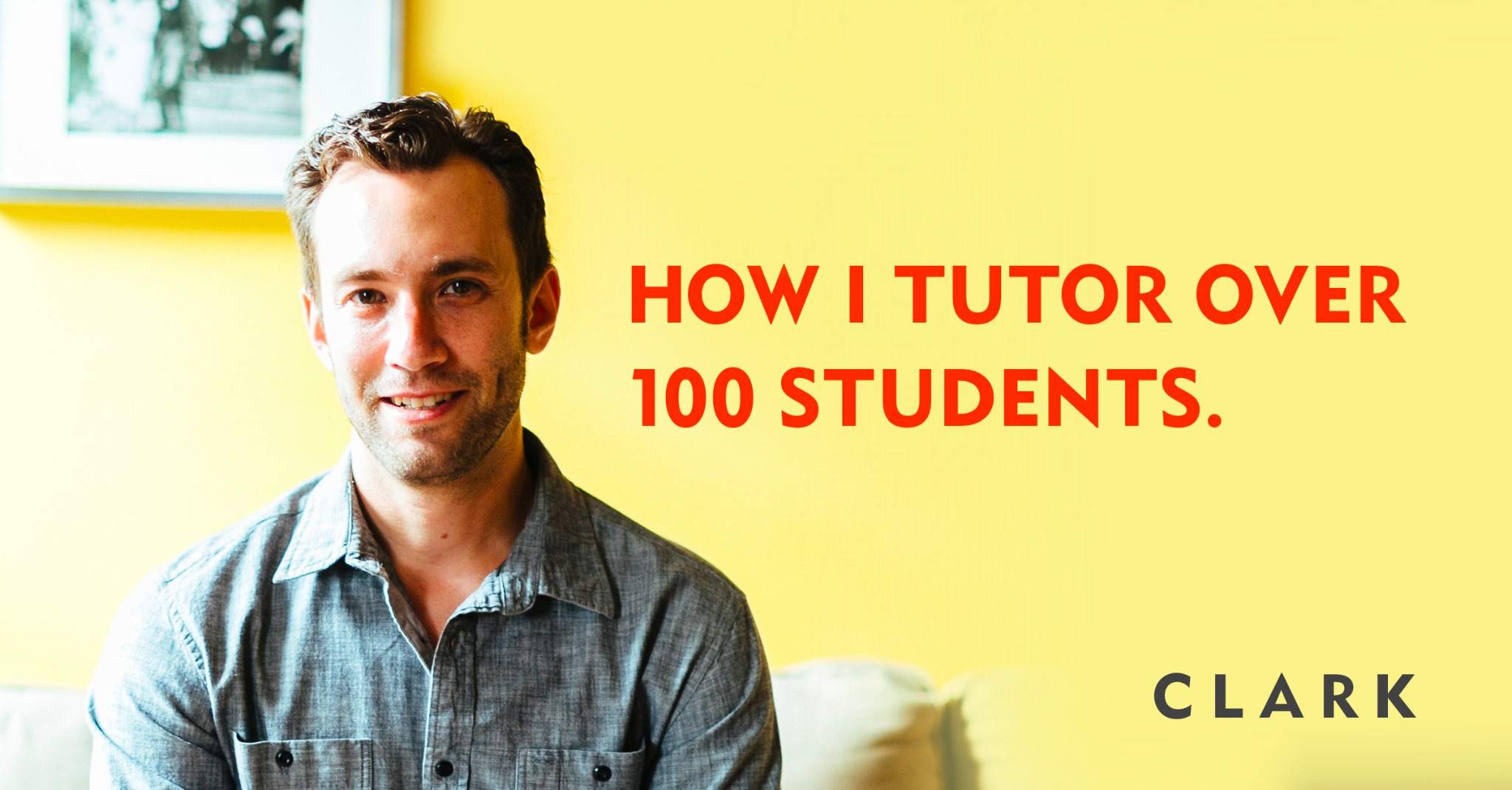 How i tutor over 100 students